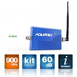 Mini Repetidor De Sinal Celular 900 MHz 60DB RP-960