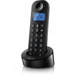 Telefone S/ Fio Philips D130 Cordless Phone D1301b/br