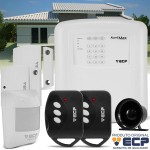 Kit de Alarme Max4 ECP para Residências e Pequenos Comércios