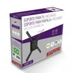 """Suporte INCLINÁVEL para TV LED, LCD, Plasma, 3D e Smart TV de 10"""" a 55"""" – Brasforma SBRP 110 – Acompanha Nível Bolha"""