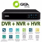 DVR 16 Canais - 4 Megapixels - Open HD (5 em 1) - Saída BNC, HDMI e VGA - H.264+ - Saída 4K - GS16OPEN4Mi2