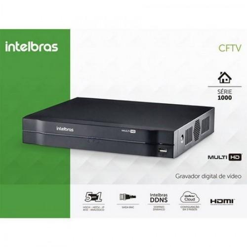 DVR 8 CANAIS H.265 MHDX 1108 INTELBRAS