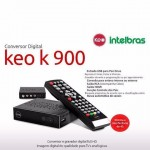Kit Antena,Cabo e Conversor Digital Full HD KEO