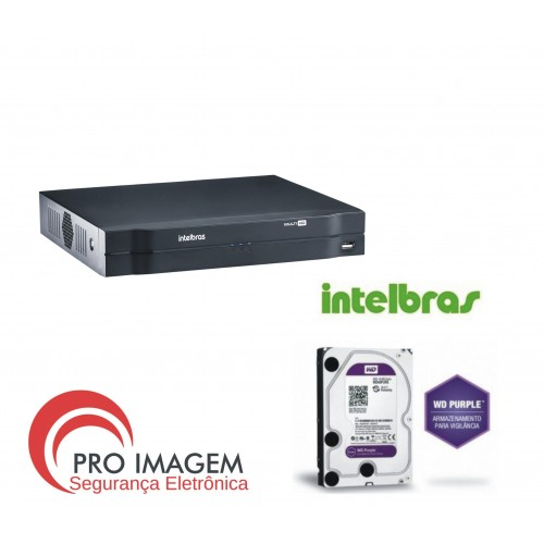 Dvr 16 Canais  Mhdx 1116 C/ Hd 1tb Intelbras