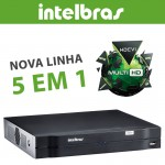 Dvr Intelbras Gravador digital de vídeo Multi HD MHDX 1008