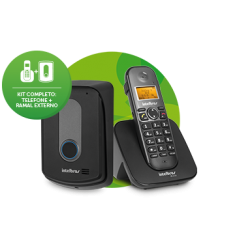 Telefone Porteiro Eletrônico Interfone Sem Fio Intelbras TIS 5010