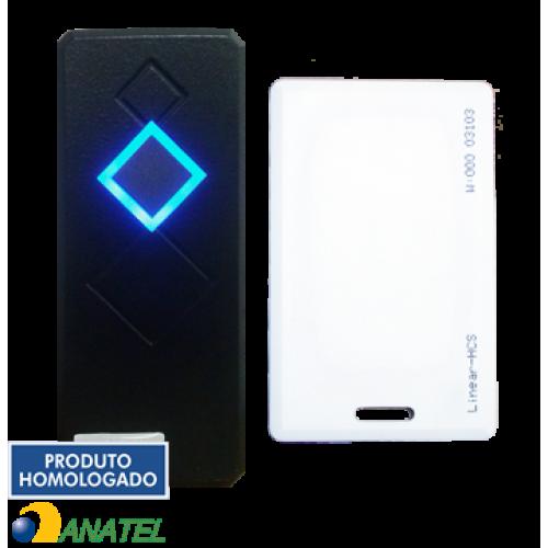 LEITOR RFID LN-101 (EM 125KHZ) - PRETO