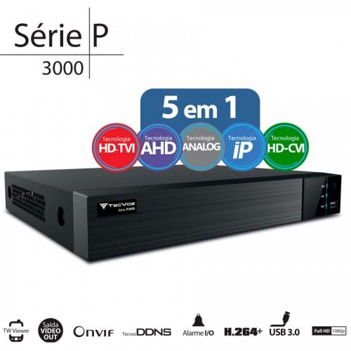 Dvr Stand Alone FLEX HD TECVOZ  TW-P3016 FullHD 1080p