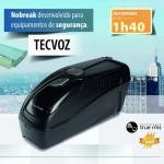 Nobreak TecVoz 600va Bi-Volt- TV-6000 Dedicado p/ Sistemas de Segurança