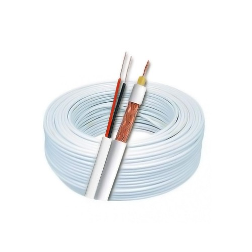 Cabo Coaxial MaxCable 4,0mm 2x26 80% Malha 100mts