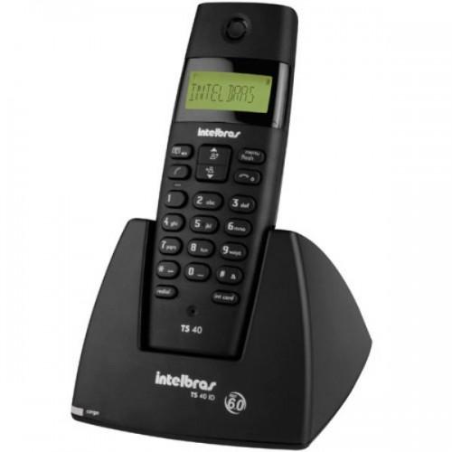 Telefone sem fio digital TS 40 ID Intelbras