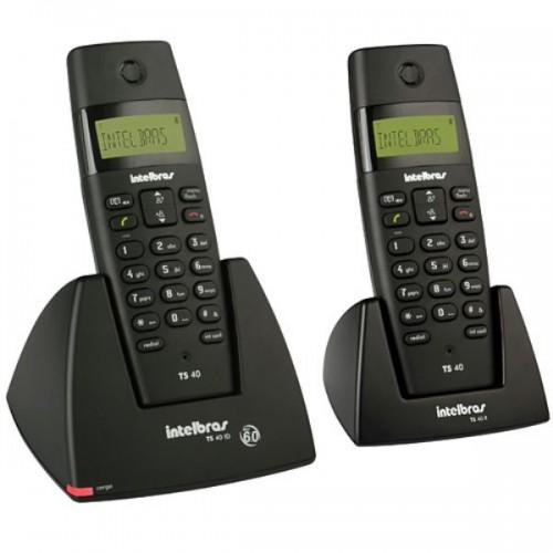 Telefone sem fio digital com ramal adicional TS 40 C