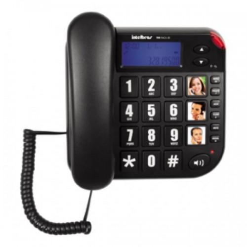 Telefone com fio com teclas grandes ToK Fácil