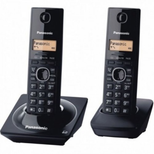 Telefone S/Fio Panasonic Base + Ramal TG1712lb