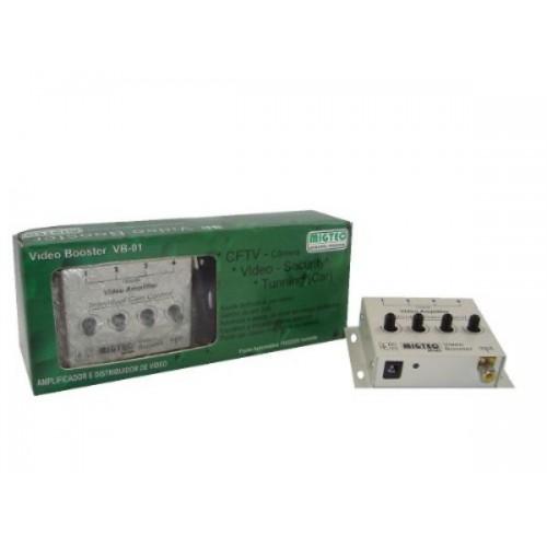 Distribuidor e Amplificador De Video1 1X4