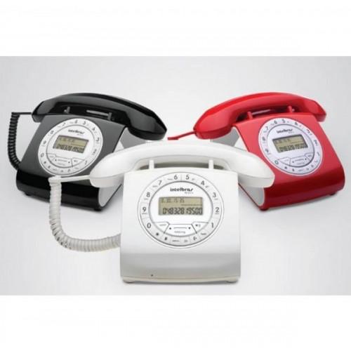 Telefone Retrô - Intelbras - TC 8312 c/ Identificador