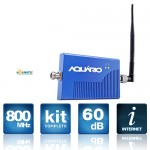 Mini Repetidor de sinal celular 800Mhz 60DB RP-860